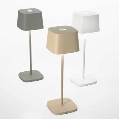 tafellampjes LED Zafferano