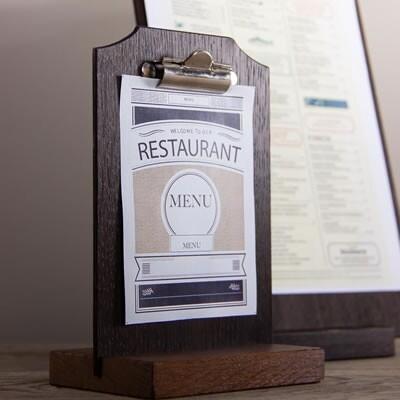 menuhouders