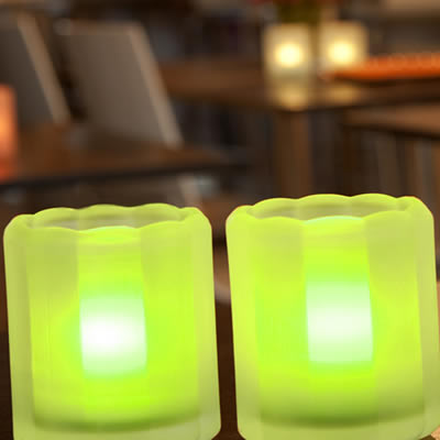 Q Lights Barlights Glass