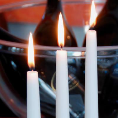 Q Lights gotische kaarsen