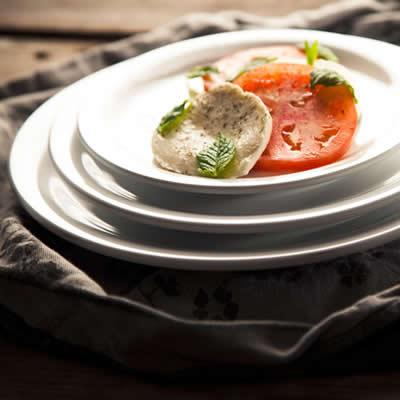 Truyts ronde en ovale borden