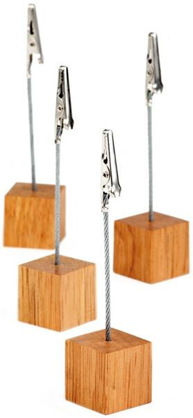 kaarthouder hout 2,5 x 12(h) cm DOOS 4