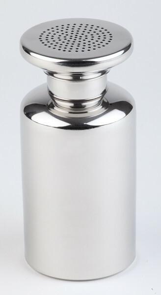 zoutstrooier edelstaal Ø8 x 17(h) cm