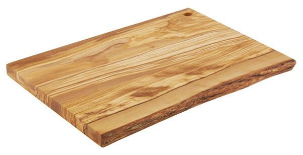 plank rechthoek olijfhout 35 x 24 x 2(h) cm