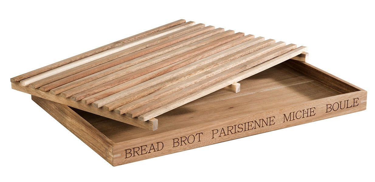 "broodplank ""Letter"" 2 delig 48 x 34 cm"