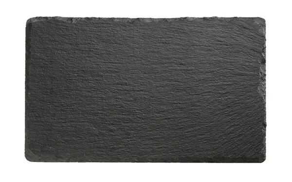 leisteen servies plateau 24 x 15 cm
