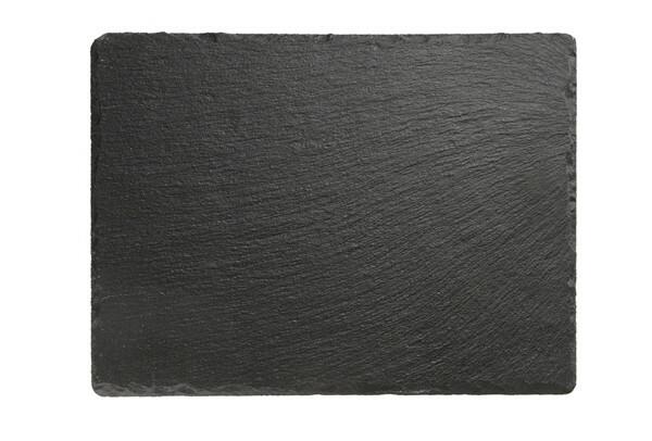 leisteen servies plateau 26,5 x 20,5 cm
