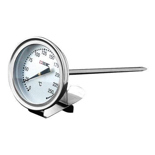 vet thermometer RVS met bevestigingsclip