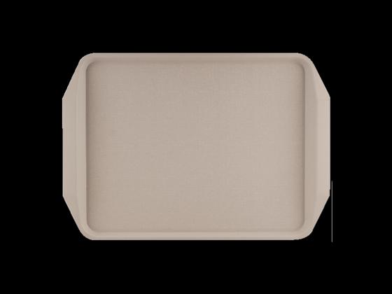 Roltex rechthoekig dienblad abs plastic 30,5 x 43,5 cm ecru