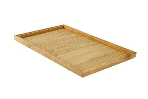 Oak linoil 1/1 GN box low stackable 53 x 32,5 x 2(h) cm