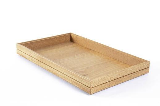 Oak linoil 1/1 GN box medium stackable 53 x 32,5 x 4(h) cm