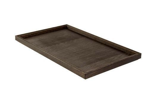 Black 1/1 GN box low stackable 53 x 32,5 x 2(h) cm