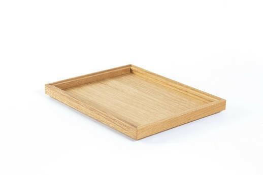 Oak linoil 1/2 GN box low stackable 32,5 x 26,5 x 2(h) cm