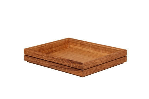 Oak linoil 1/2 GN box medium stackable 32,5 x 26,5 x 4(h) cm