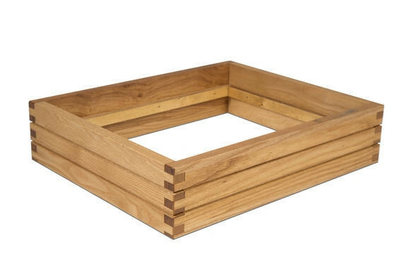Oak linoil frame for cooling tray 1/2 GN 36 x 29,5 x 8,4(h) cm