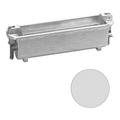 paté terrinevorm rond gegoten aluminium Ø 5,5 x 24(l) cm