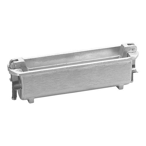 paté terrinevorm rond gegoten aluminium Ø 8 x 25(l) cm