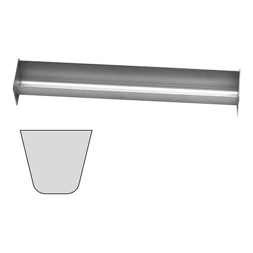 paté terrinevorm U vorm RVS 6(h) x 45(b) x 6(d) cm