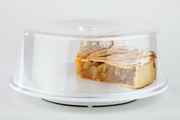 bordendeksel / cloche polystyrol Ø 30 x 7(h) cm