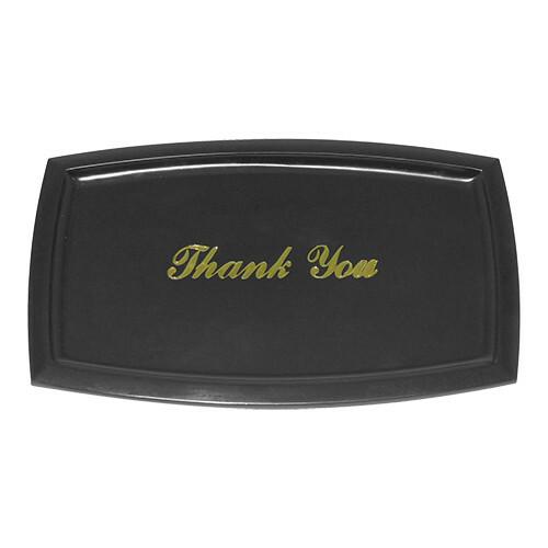 """rekeningschaaltje """"Thank You"""" 20 x 13 cm"""