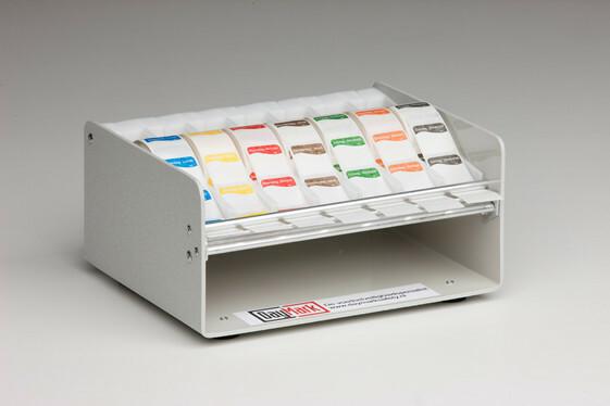 Daymark HACCP sticker dispenser kunststof