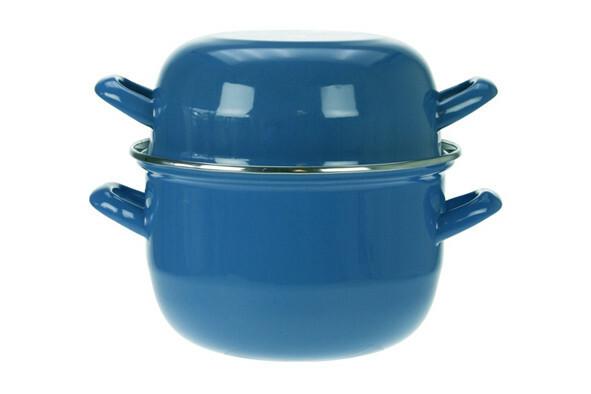 mosselpan blauw Ø 18 cm 1,2 Kg
