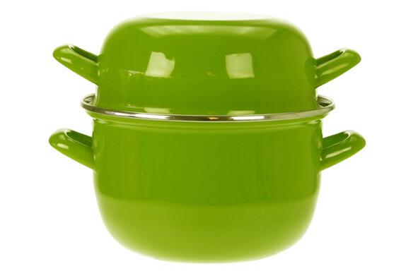 mosselpan groen Ø 18 cm 1,2 Kg