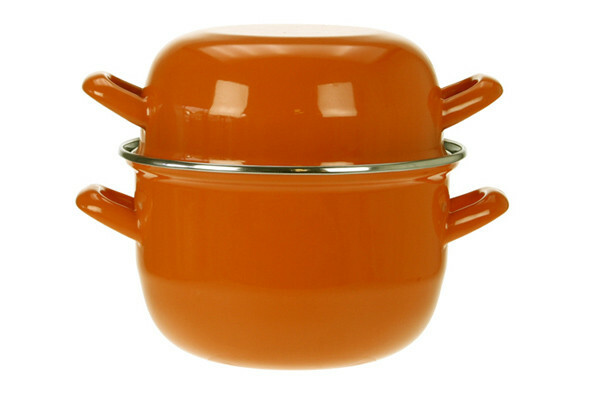 mosselpan oranje Ø 18 cm 1,2 Kg