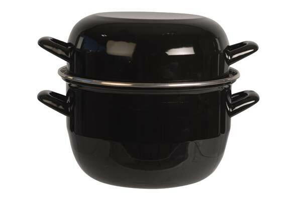 mosselpan zwart Ø 20 cm 2 Kg