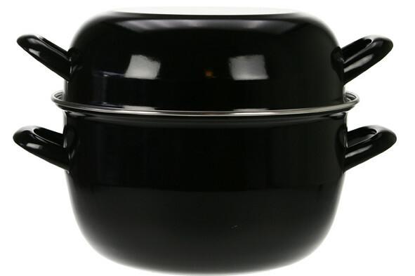 mosselpan zwart Ø 24 cm 4 Kg