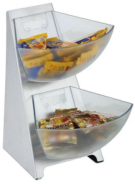 buffet dispenser Multi rack 3 delig 2 bakjes 1 Ltr