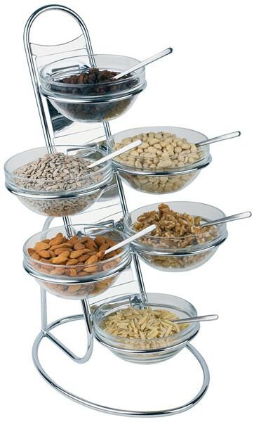 buffet etagere Little set compleet met schalen 14 cm