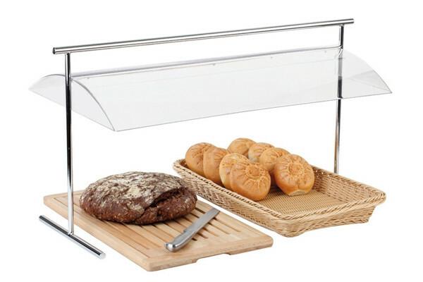 brood hygiene kap acryl, metaal 82 x 42 45(h) cm