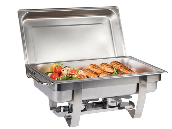 chafing dish Chef 18/10 voedselpan 1/1 GN 65 mm