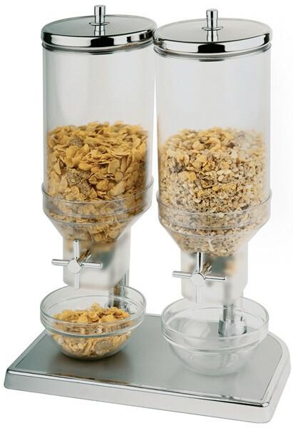 cereal dispenser 2 x 4,5 Ltr.
