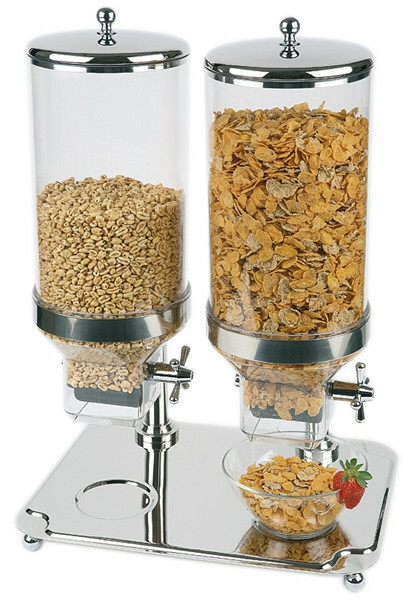 cereal dispenser 2 x 8 Ltr