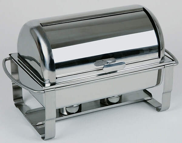 chafing dish rolltop 18/10 voedselpan 1/1 GN 65mm