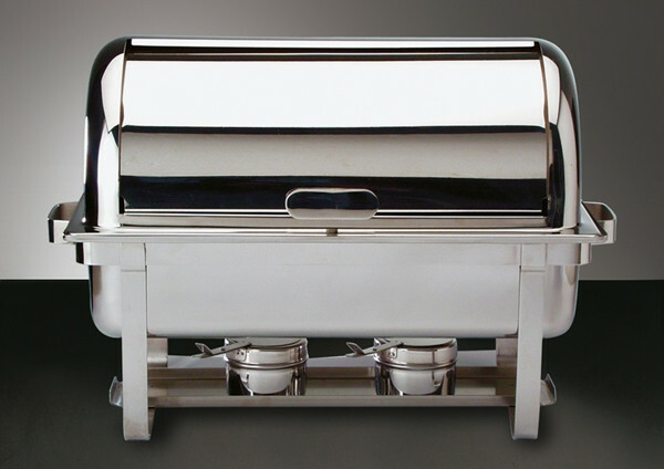 chafing dish rolltop 18/10 voedselpan 65 mm