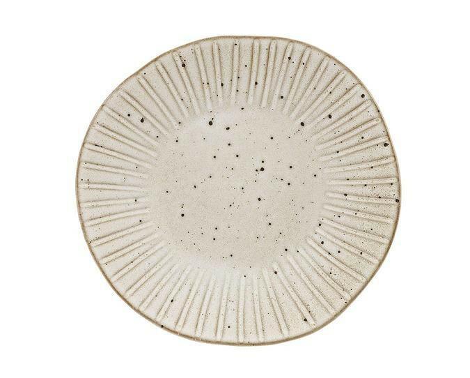 Q Authentic Stonewhite bord plat 28,5 cm