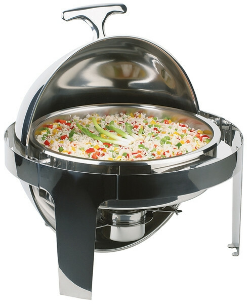 chafing dish rond 5 Ltr