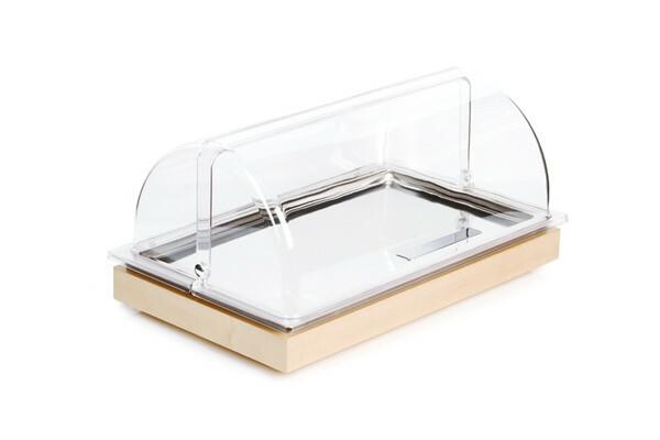 Frames rolltop set 1/1 GN 4-delige set ahorn