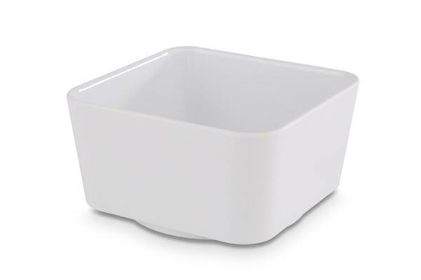 APS melamine + Universal bowl 13 x 13 x 7(h) cm wit