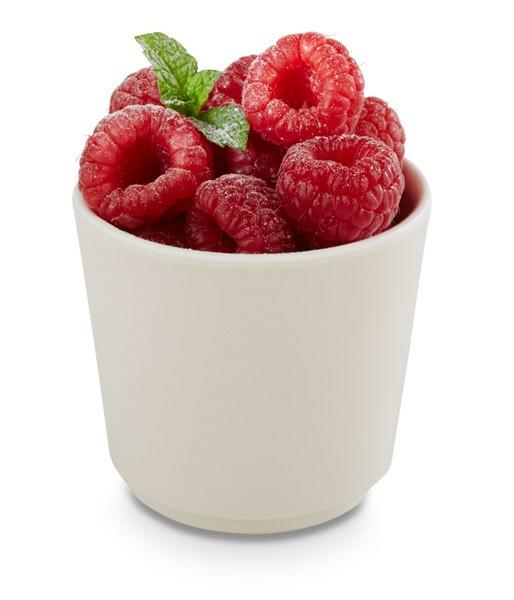 APS melamine + Universal bowl Ø 6,5 x 6(h) cm ahorn-creme