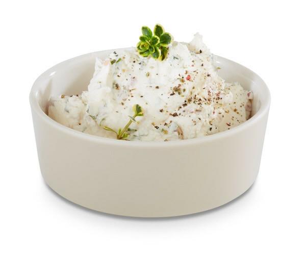 APS melamine + Universal bowl Ø 9 x 4(h) cm ahorn-creme