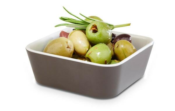 APS melamine + Universal bowl 9 x 9 x 4(h) cm bruin-creme