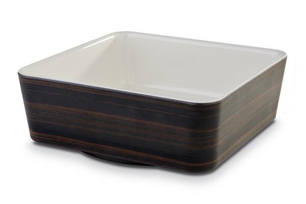 APS melamine + Universal bowl 20 x 20 x 7(h) cm oak-creme
