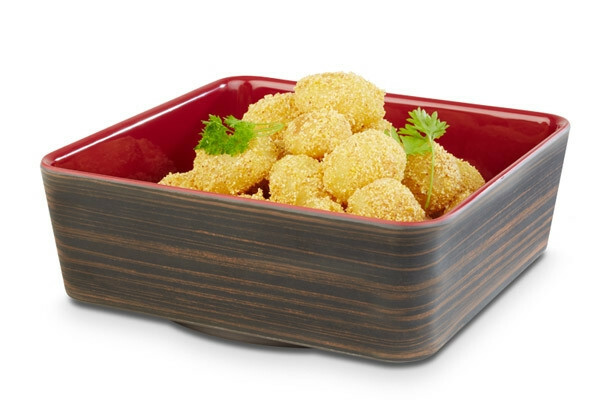 APS melamine + Universal bowl 20 x 20 x 7(h) cm oak-rood