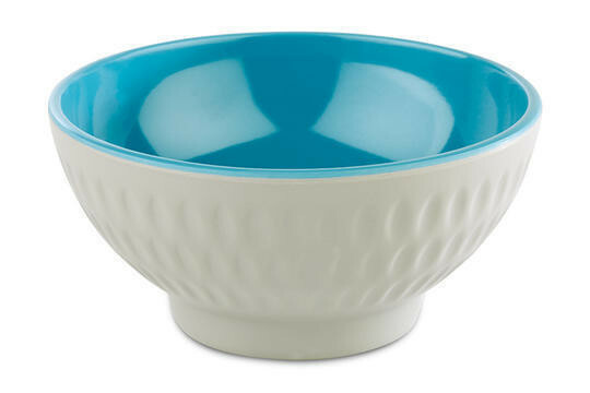 APS melaminie Asia Plus bowl Ø 9,5 x 4,5(h) cm blauw/wit