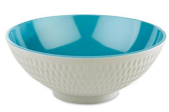 APS melaminie Asia Plus bowl Ø 20 x 8(h) cm blauw/wit