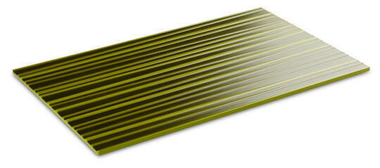 APS melamine Asia Plus plateau 1/1 GN bamboo structuur